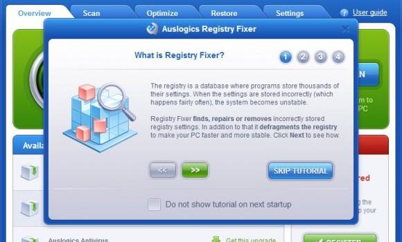 AusLogics RegistryFixer Ekran Görüntüleri - 6