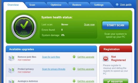 AusLogics RegistryFixer Ekran Görüntüleri - 5