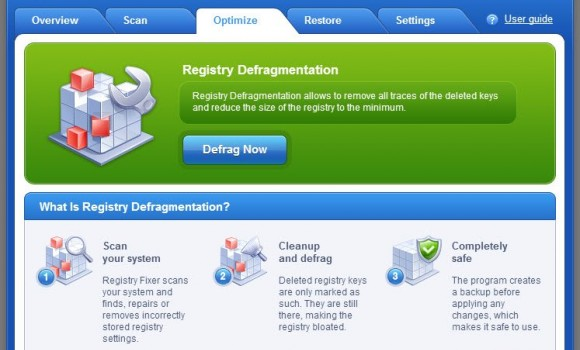 AusLogics RegistryFixer Ekran Görüntüleri - 2