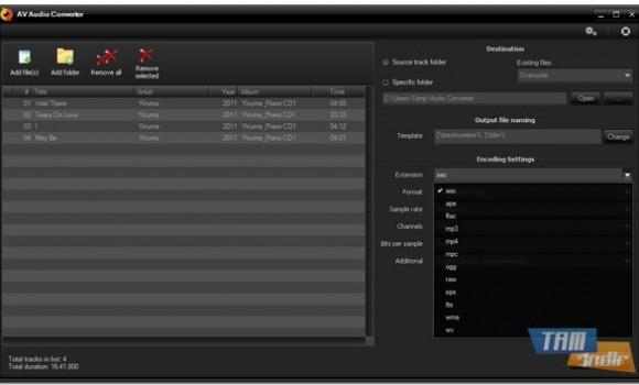 AV Audio Converter Ekran Görüntüleri - 3