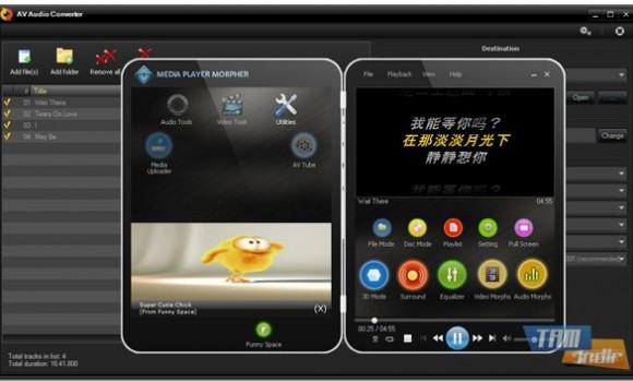 AV Audio Converter Ekran Görüntüleri - 1