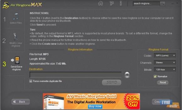AV RingtoneMAX Ekran Görüntüleri - 1