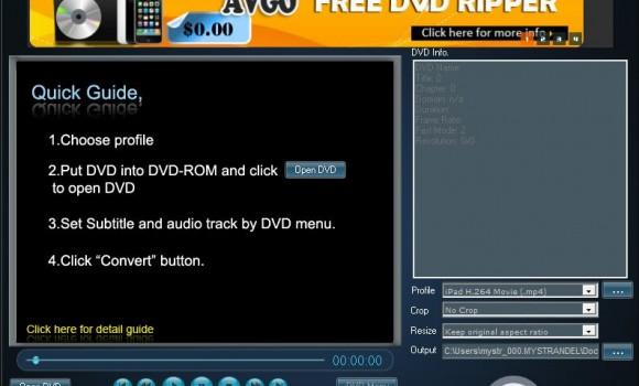 AVGO Free DVD Ripper Ekran Görüntüleri - 4