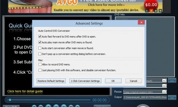 AVGO Free DVD Ripper Ekran Görüntüleri - 3