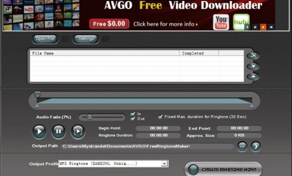 AVGO Free Ringtone Maker Ekran Görüntüleri - 3