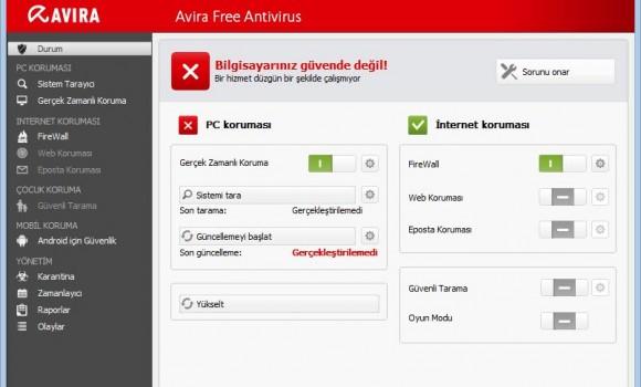 Avira Free Antivirus Ekran Görüntüleri - 8