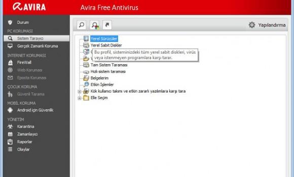 Avira Free Antivirus Ekran Görüntüleri - 7