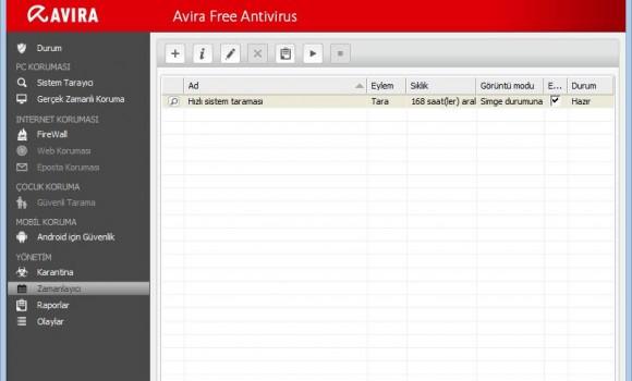Avira Free Antivirus Ekran Görüntüleri - 3