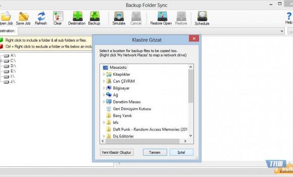 Backup Folder Sync Ekran Görüntüleri - 2