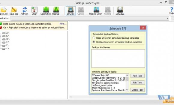 Backup Folder Sync Ekran Görüntüleri - 1