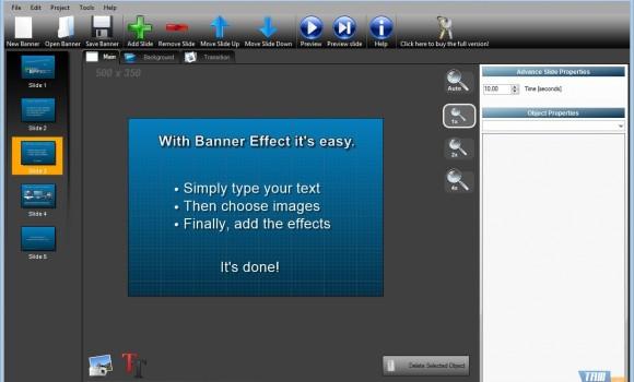 Banner Effect Ekran Görüntüleri - 3