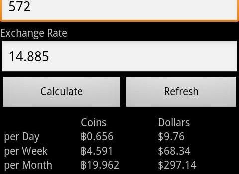 Bitcoin Calculator Ekran Görüntüleri - 2