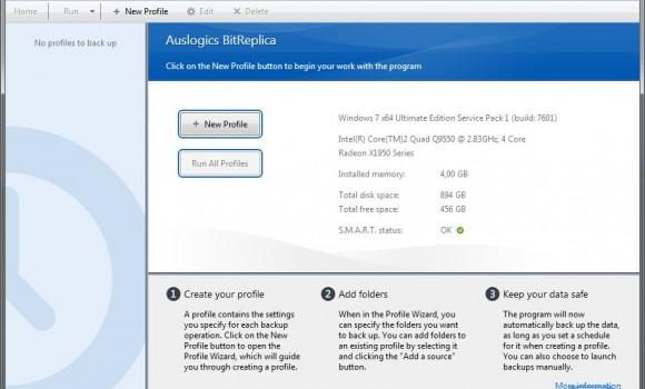 Auslogics BitReplica Ekran Görüntüleri - 1