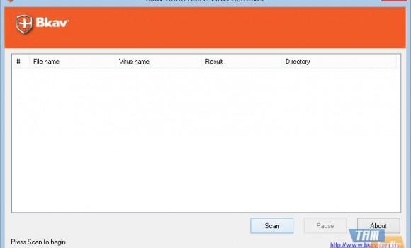 Bkav RootFreeze Virus Remover Ekran Görüntüleri - 1