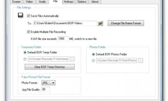 BSR Screen Recorder Ekran Görüntüleri - 1