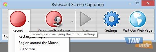 Bytescout Screen Capturing Ekran Görüntüleri - 1