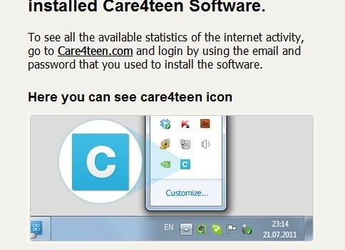 Care4Teen Ekran Görüntüleri - 1