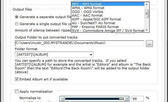 CD Ripper Ekran Görüntüleri - 1
