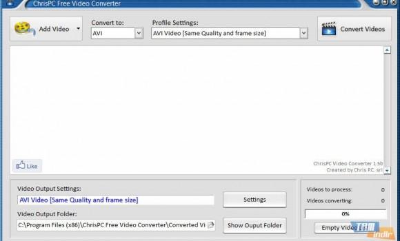 ChrisPC Free Video Converter Ekran Görüntüleri - 3