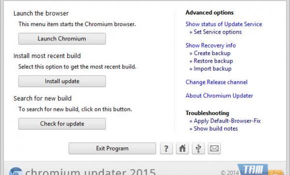 Chromium Updater Ekran Görüntüleri - 3