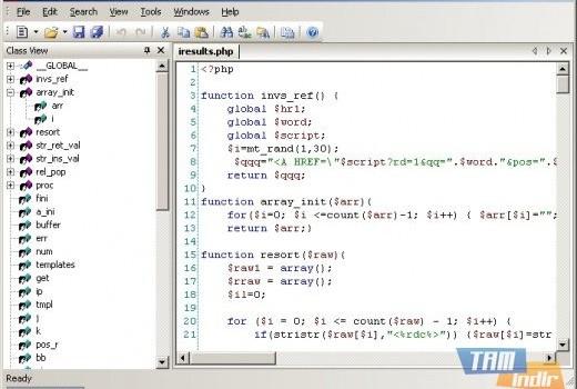 CodeLobster PHP Edition Ekran Görüntüleri - 2