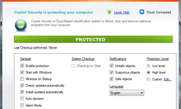 Crystal Security Ekran Görüntüleri - 3