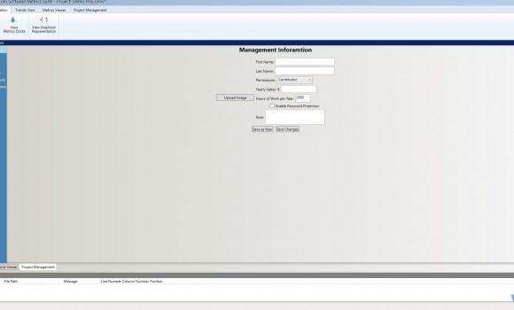 Custom Software Metrics Suite Ekran Görüntüleri - 4