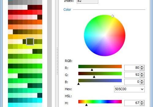 Cyotek Palette Editor Ekran Görüntüleri - 1