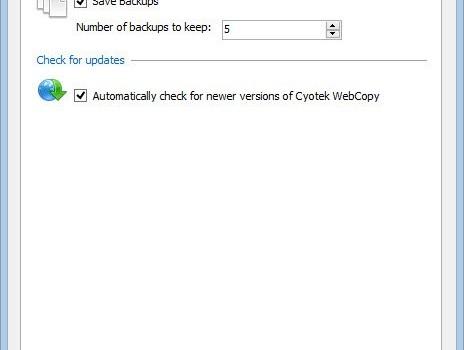 Cyotek WebCopy Ekran Görüntüleri - 2