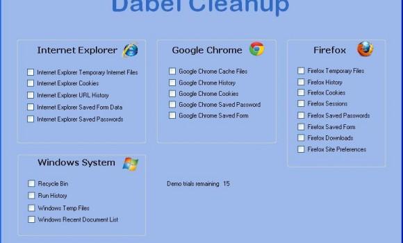 Dabel Cleanup Ekran Görüntüleri - 1