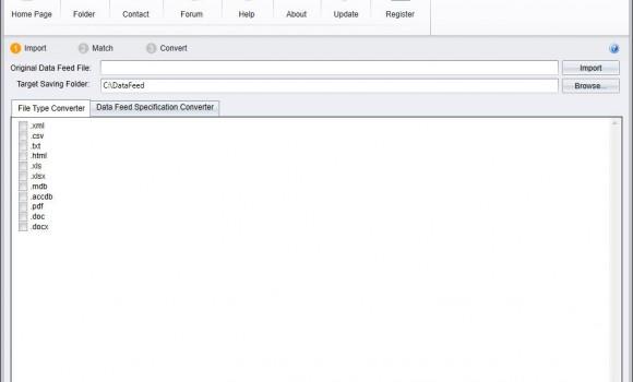 Data Feed Converter Ekran Görüntüleri - 1