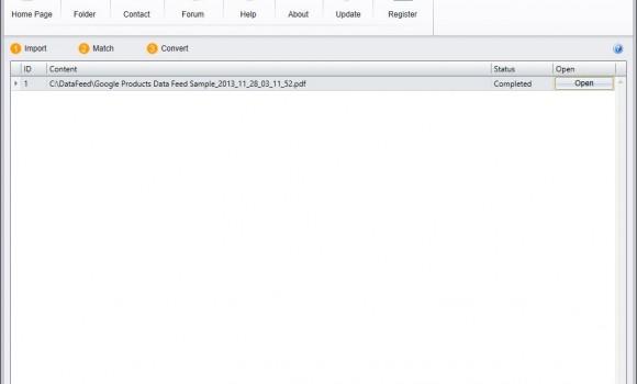 Data Feed Converter Ekran Görüntüleri - 4