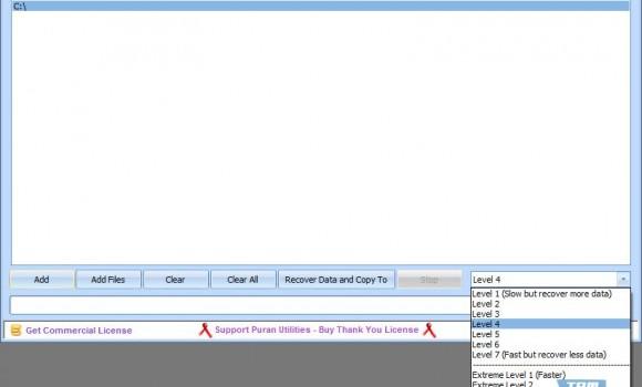 Data Recovery Ekran Görüntüleri - 1