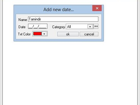 Date Reminder Ekran Görüntüleri - 2
