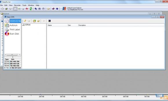 DeepBurner Free Ekran Görüntüleri - 1