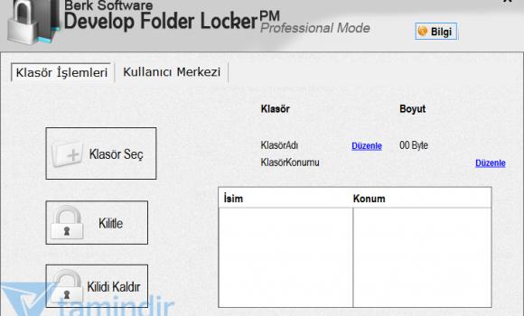 Develop Folder Locker Ekran Görüntüleri - 4