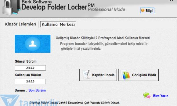 Develop Folder Locker Ekran Görüntüleri - 2