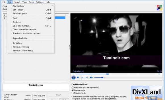 DivXLand Media Subtitler Ekran Görüntüleri - 4