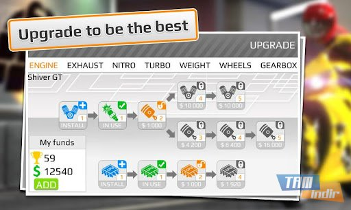 Drag Racing: Bike Edition Ekran Görüntüleri - 3