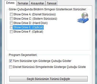 Drive Space Indicator Ekran Görüntüleri - 2