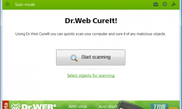 Dr.Web CureIT Ekran Görüntüleri - 4