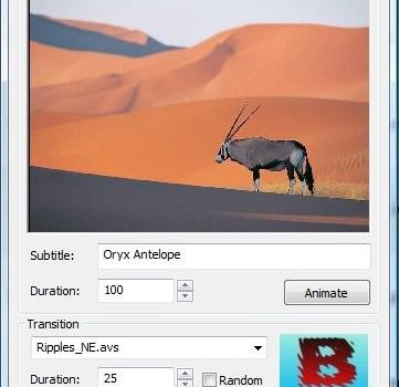 DVD slideshow GUI Ekran Görüntüleri - 1