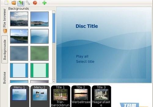 DVDStyler Ekran Görüntüleri - 4