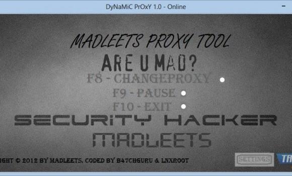 DyNaMiC PrOxY Ekran Görüntüleri - 1