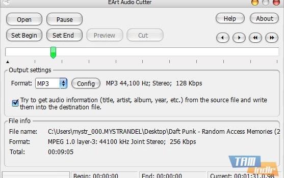 EArt Audio Cutter Ekran Görüntüleri - 3