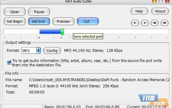 EArt Audio Cutter Ekran Görüntüleri - 1