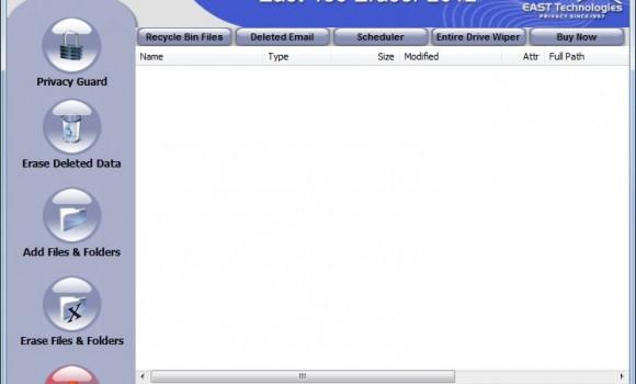 East-Tec Eraser 2012 Ekran Görüntüleri - 1