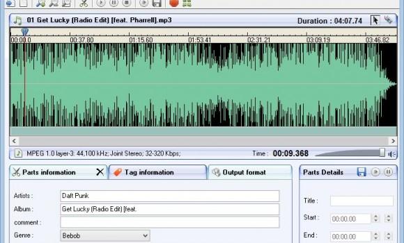 Easy Audio Mp3 Wma Ogg Cutter Ekran Görüntüleri - 2