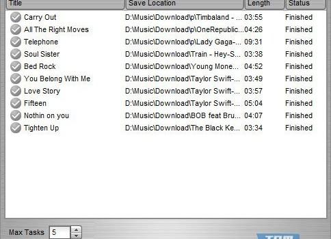 Easy MP3 Downloader Ekran Görüntüleri - 1
