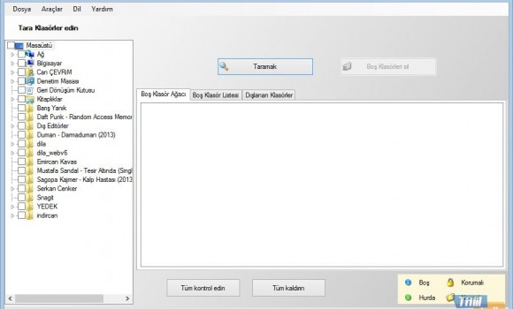 Empty Folder Cleaner Ekran Görüntüleri - 4